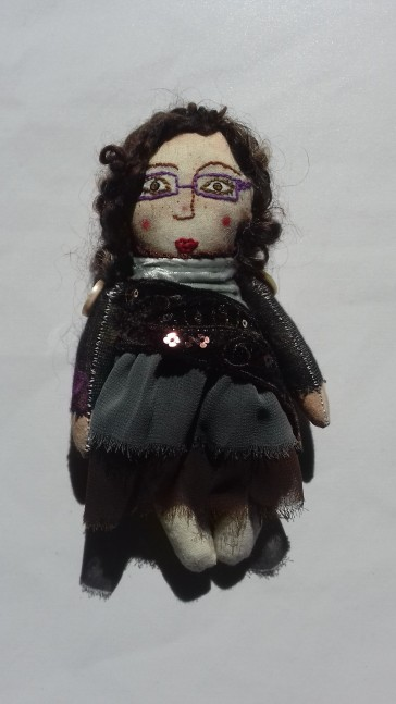 me in cloth doll form